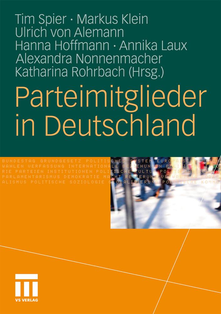 Parteimitglieder in Deutschland als Buch