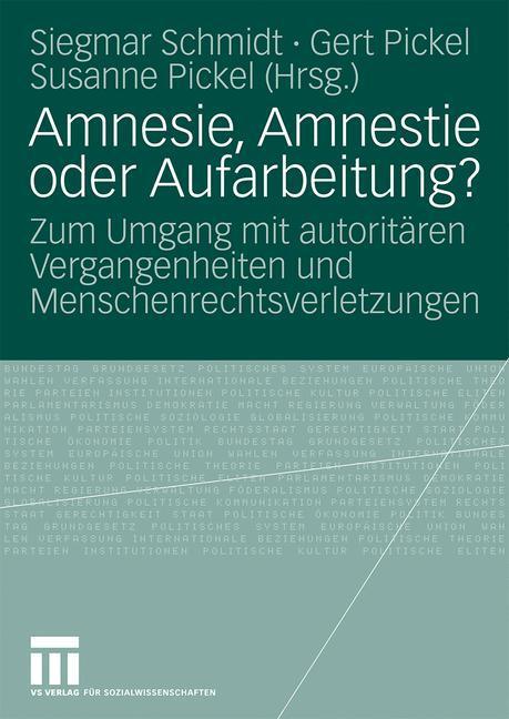 Amnesie, Amnestie oder Aufarbeitung? als Buch