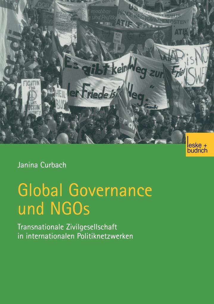 Global Governance und NGOs als Buch