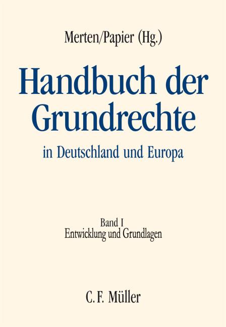 Handbuch der Grundrechte in Deutschland und Europa Bd.1 als Buch