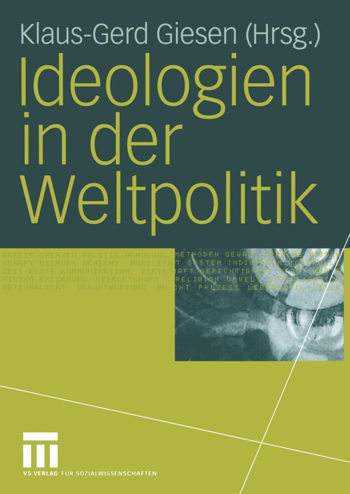Ideologien in der Weltpolitik als Buch