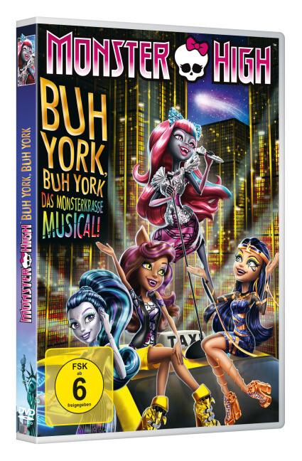Monster High - Buh York, Buh York