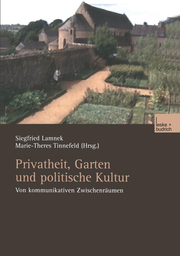 Privatheit, Garten und politische Kultur als Buch