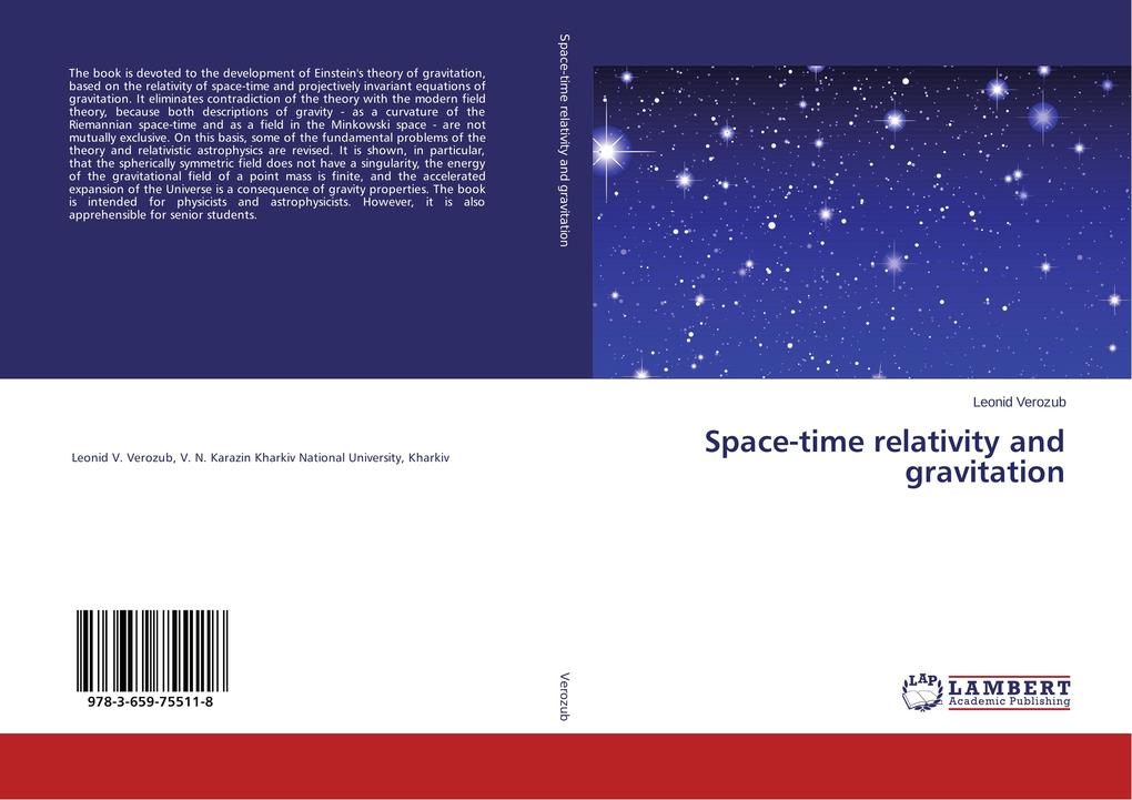 Space-time relativity and gravitation als Buch