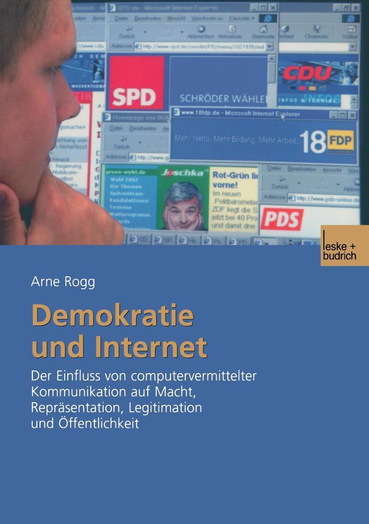 Demokratie und Internet als Buch