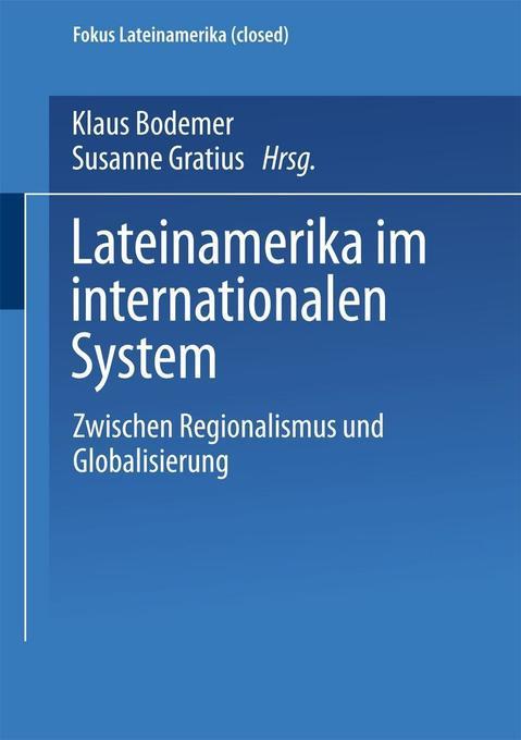Lateinamerika im internationalen System als Buch