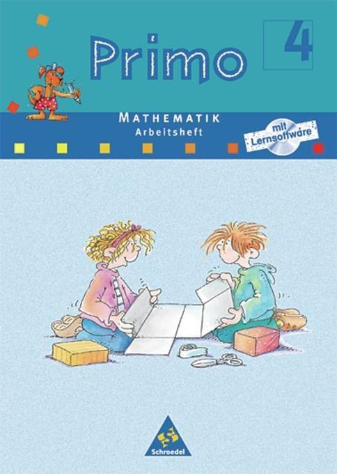 Primo Mathematik 4 Arbeitsheft. Für Bremen, Hessen, Niedersachsen, Nordrhein-Westfalen. Rheinland-Pfalz, Schleswig-Holstein als Buch