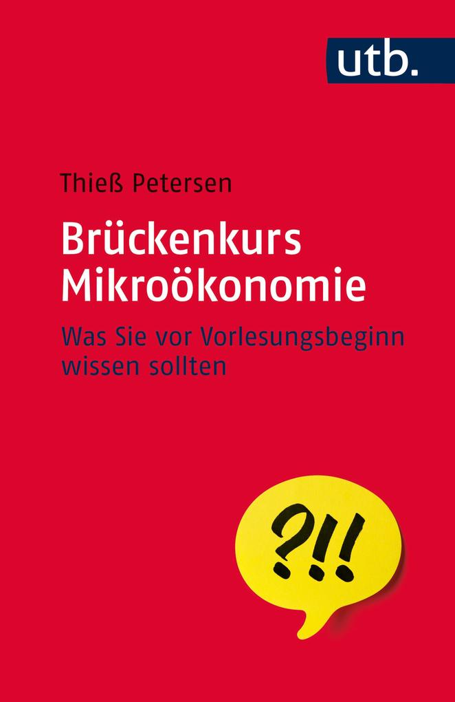 Brückenkurs Mikroökonomie als eBook Download vo...