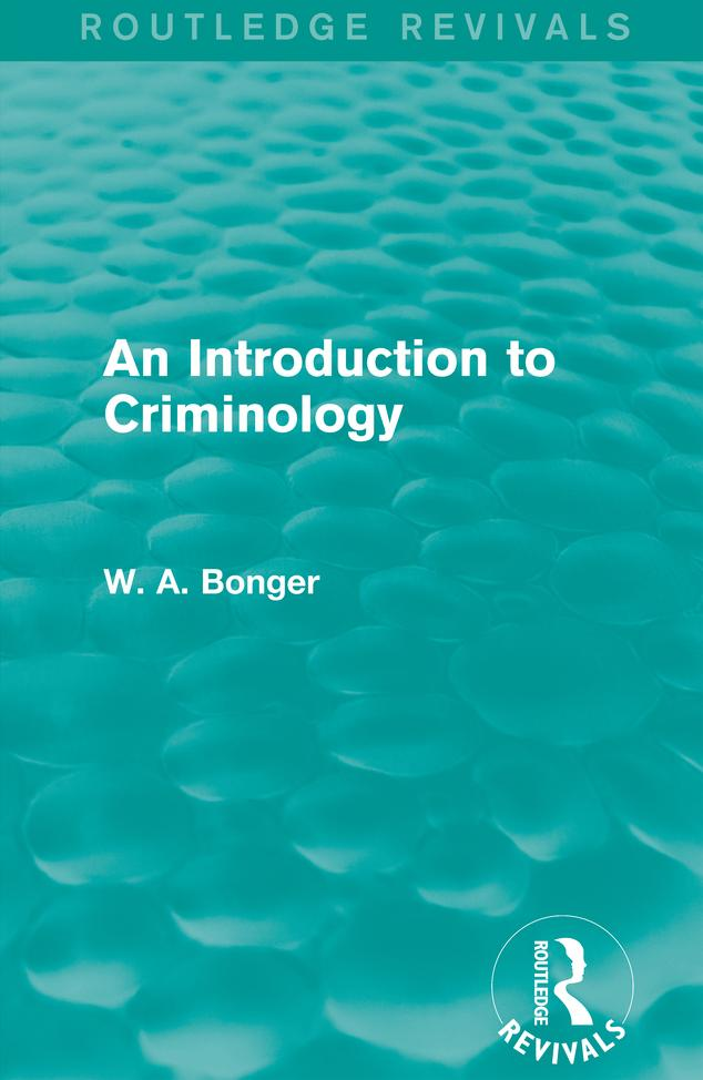 Introduction to Criminology als eBook Download ...
