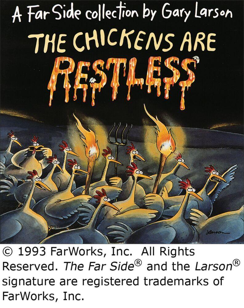The Chickens Are Restless als Taschenbuch
