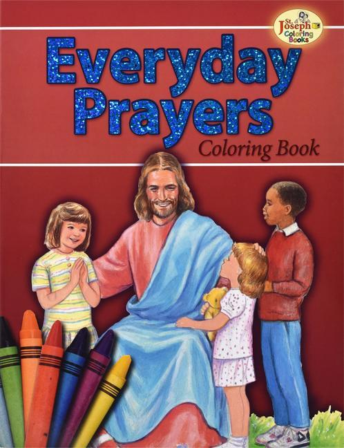 Coloring Book about Everyday Prayers als Taschenbuch