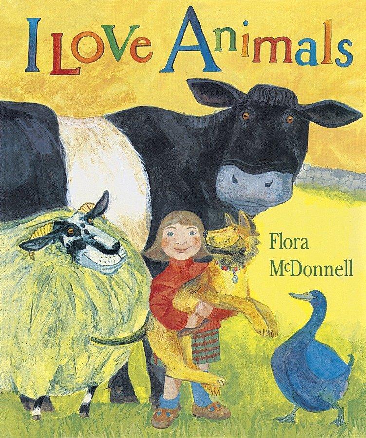 I Love Animals Big Book als Taschenbuch