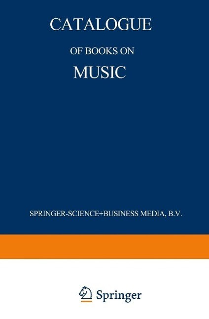 Catalogue of Books on Music als eBook Download ...