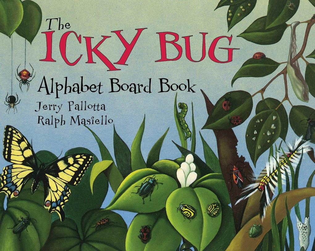 The Icky Bug Alphabet Board Book als Buch