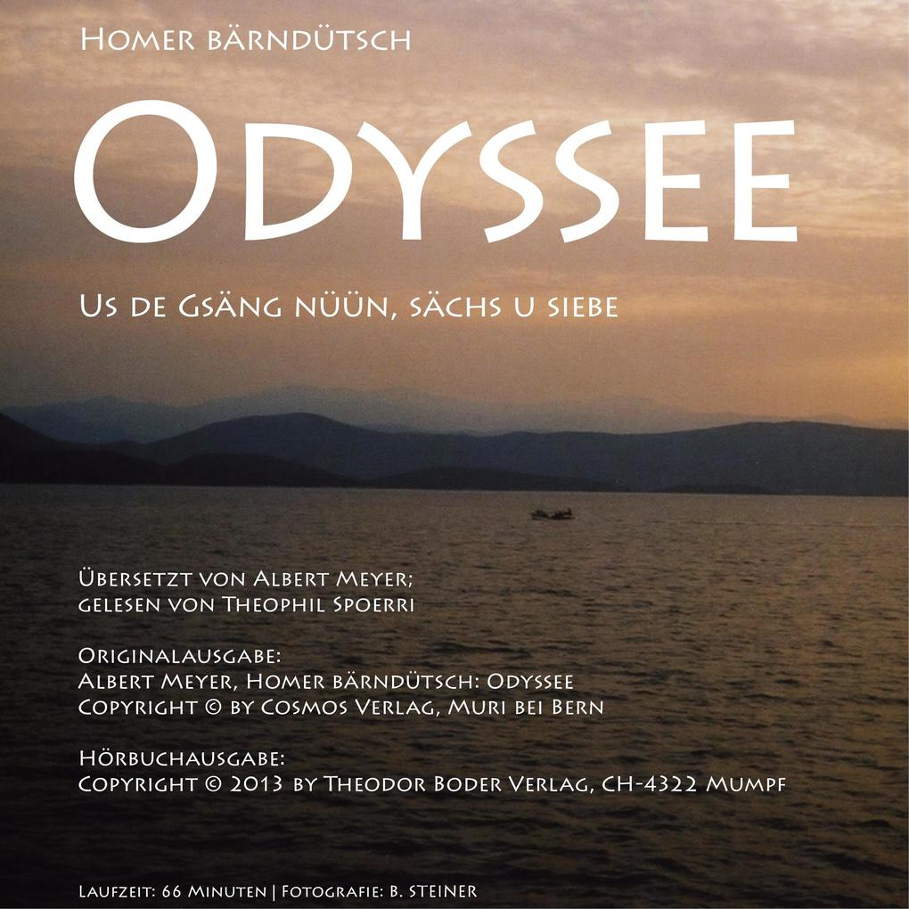 Homer Bärndütsch: Odyssee als Hörbuch Download