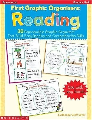 First Graphic Organizers: Reading: 30 Reproducible Graphic Organizers That Build Early Reading and Comprehension Skills als Taschenbuch