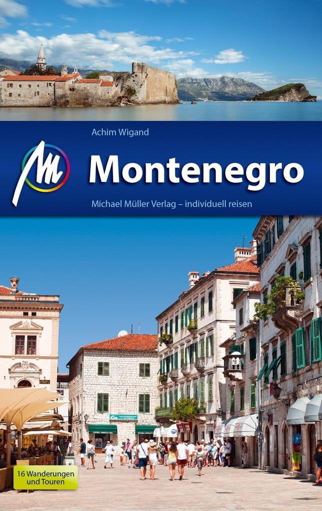 Montenegro Reiseführer Michael Müller Verlag al...