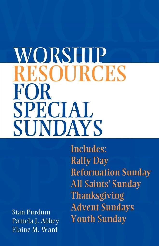 Worship Resources for Special Sundays als Taschenbuch