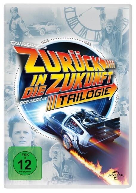 Zurück in die Zukunft - Trilogie. 30th Anniversary Edition als DVD