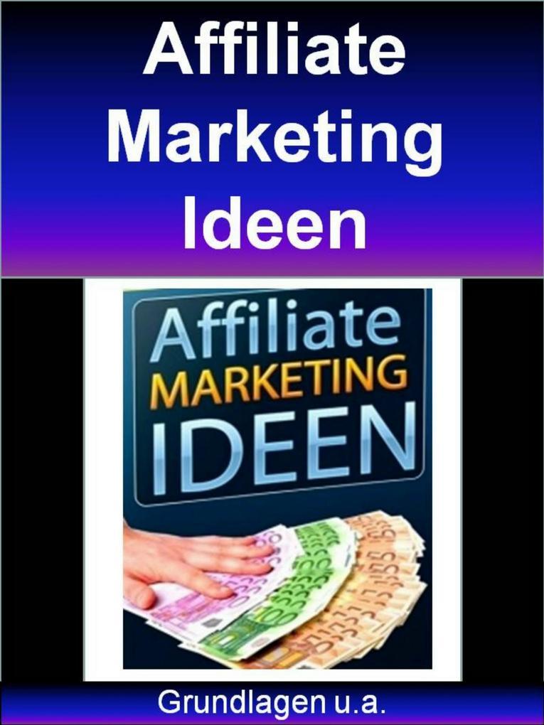 Affiliate Marketing Ideen als eBook Download vo...