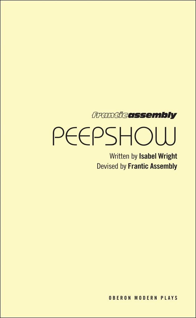 Peepshow als Taschenbuch