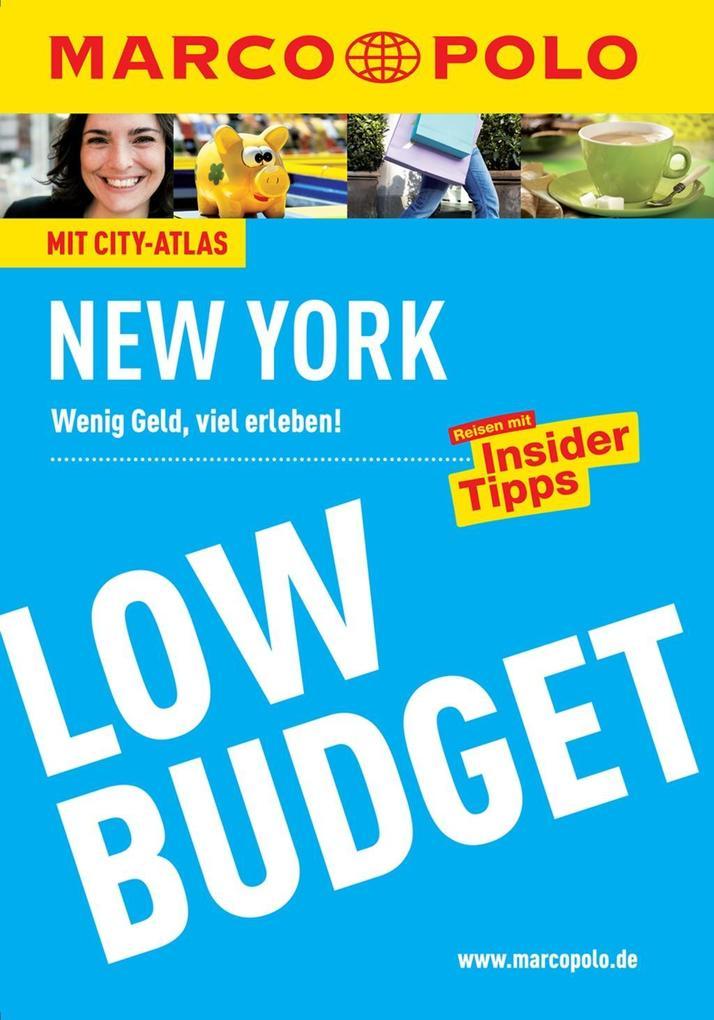 MARCO POLO Reiseführer Low Budget New York als ...