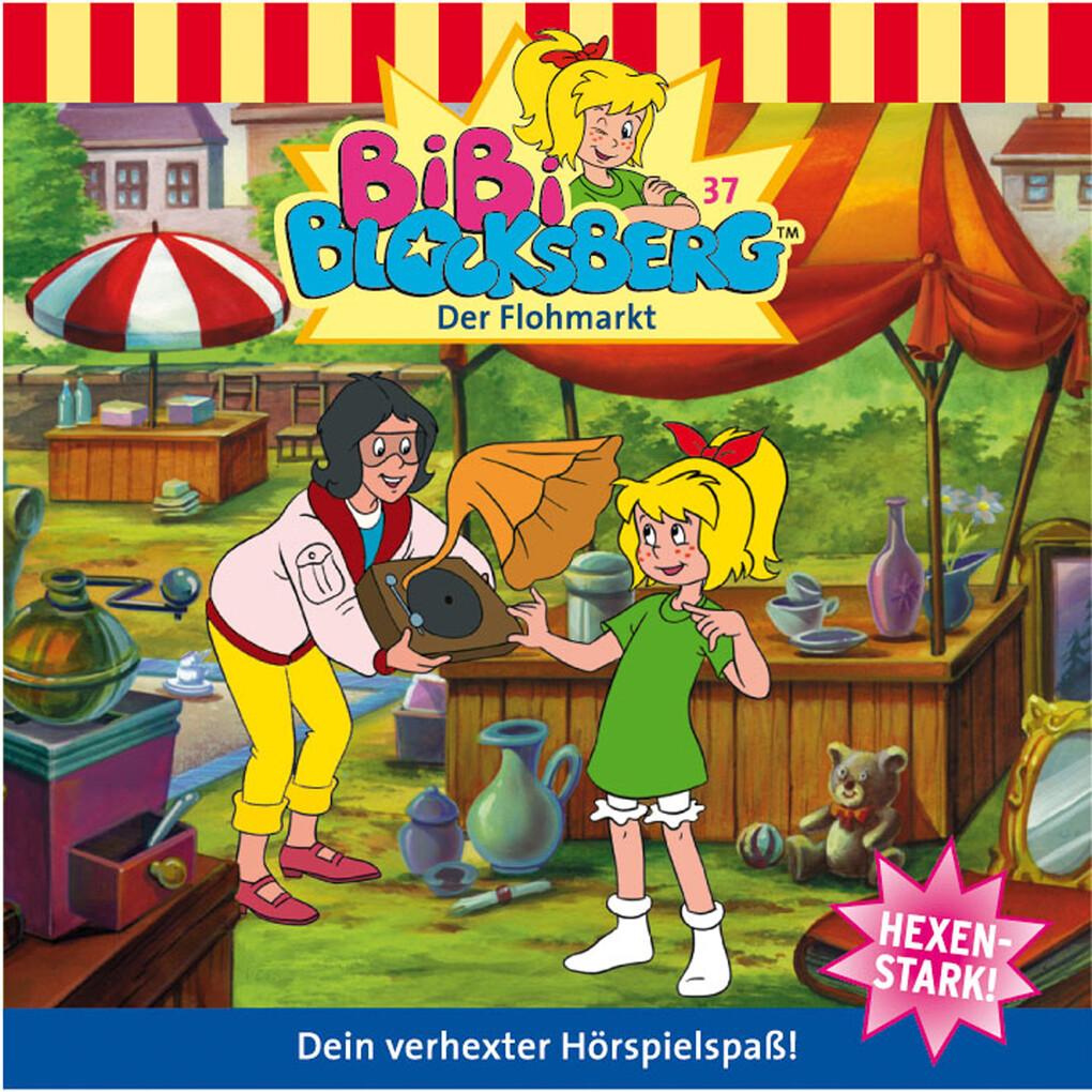 Bibi Blocksberg - Der Flohmarkt als Hörbuch Dow...