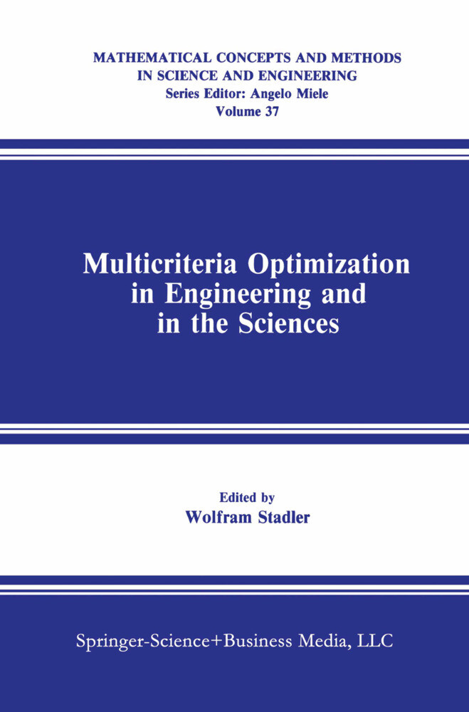 Multicriteria Optimization in Engineering and in the Sciences als Buch