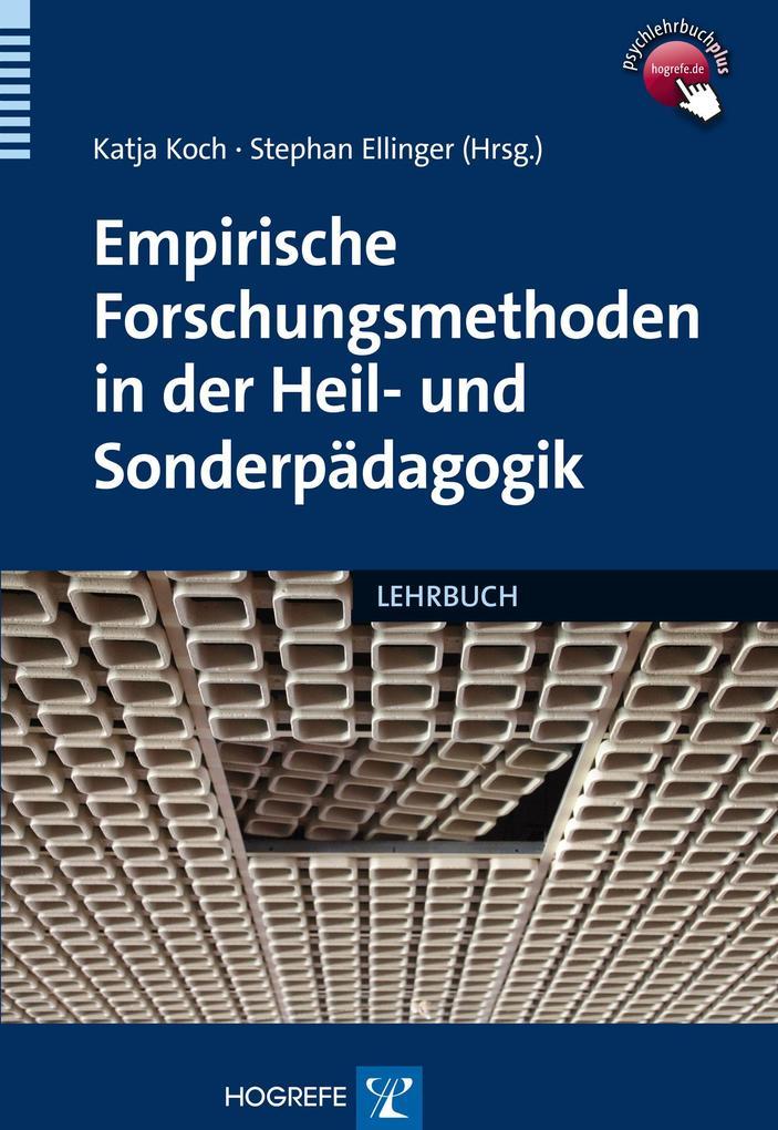 Empirische Forschungsmethoden in der Heil- und ...