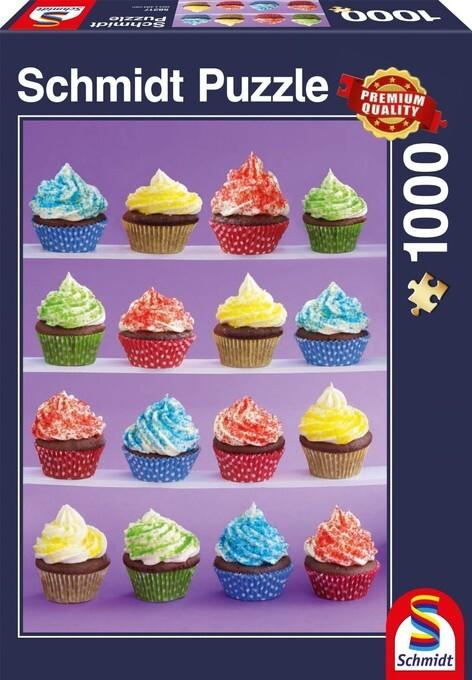 Schmidt Spiele - Puzzle - Cupcakes-Spaß, 1000 T...