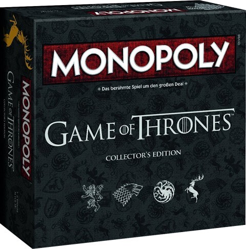 Monopoly Game of Thrones - Collector´s Edition