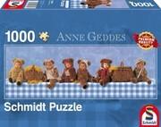 Anne Geddes, Panoramapuzzle, Teddybären- Picknick. Puzzle 1.000 Teile