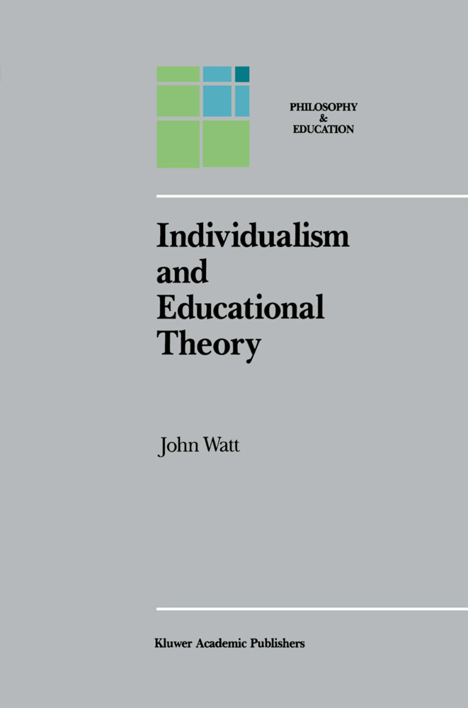 Individualism and Educational Theory als Buch