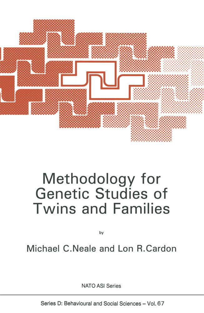 Methodology for Genetic Studies of Twins and Families als Buch
