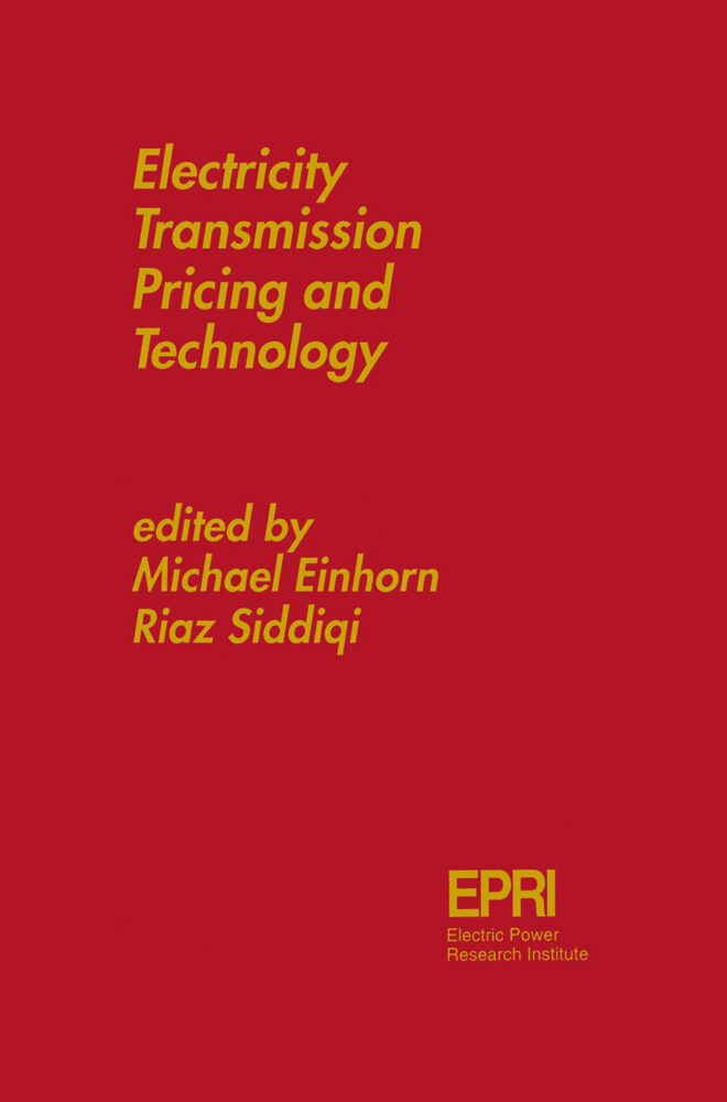 Electricity Transmission Pricing and Technology als Buch