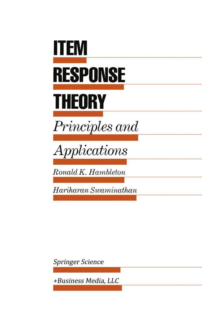 Item Response Theory als Buch
