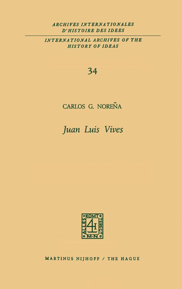 Juan Luis Vives als Buch