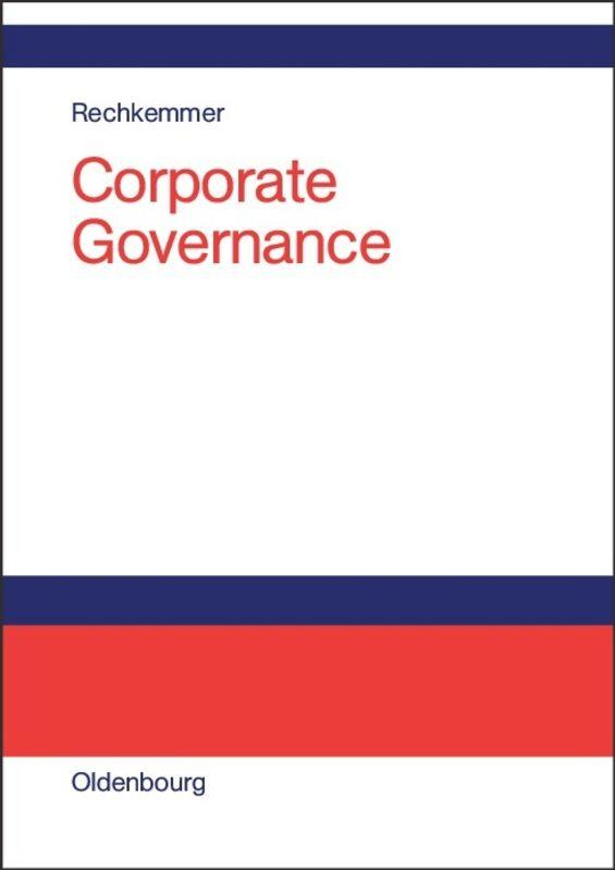 Corporate Governance als Buch