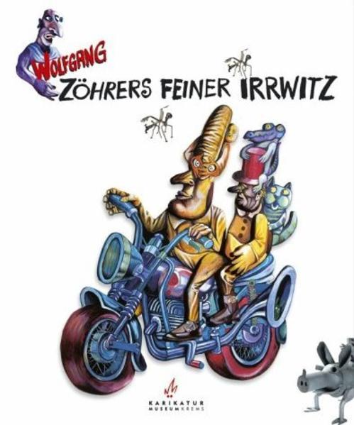 Zöhrers feiner Irrwitz als Buch