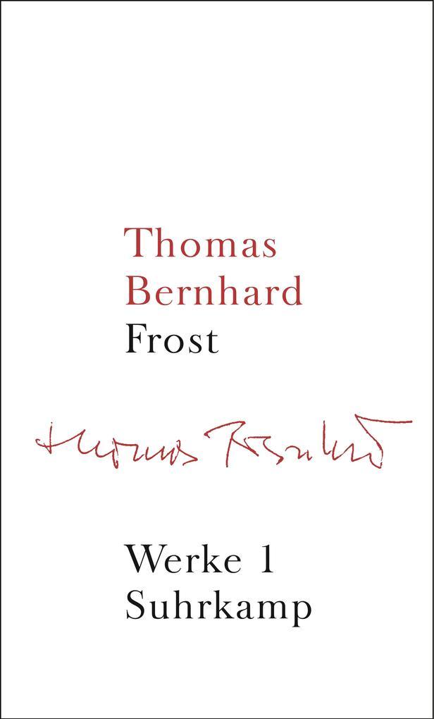 Werke 01. Frost als Buch