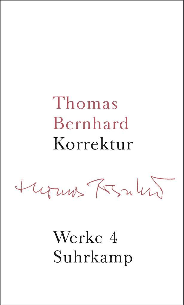 Werke 04. Korrektur als Buch