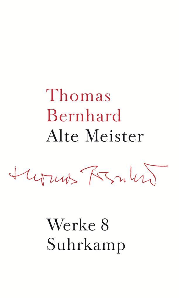 Werke 08. Alte Meister als Buch