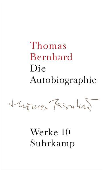 Werke 10. Autobiographie als Buch
