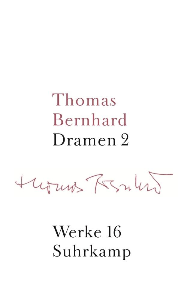 Werke 16. Dramen 2 als Buch