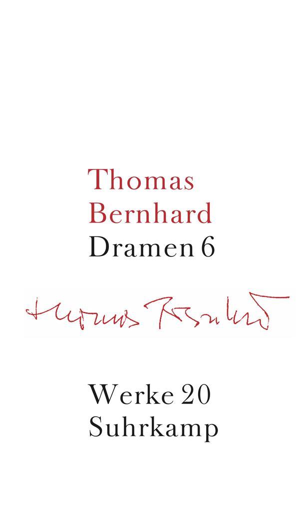 Werke 20. Dramen 6 als Buch