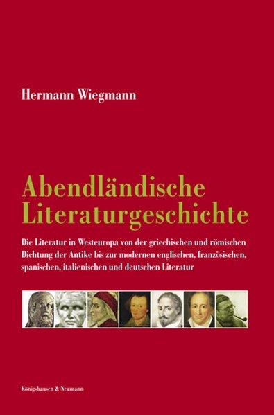 Abendländische Literaturgeschichte als Buch