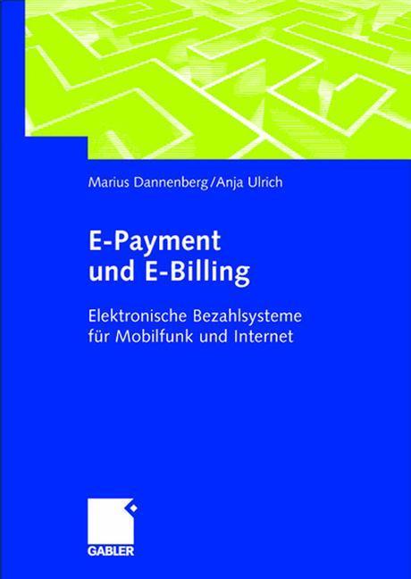 E-Payment und E-Billing als Buch