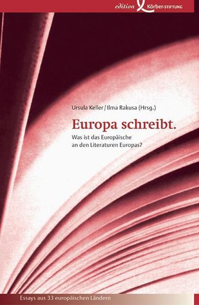 Europa schreibt als Buch