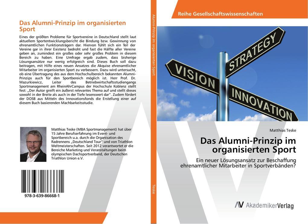 Das Alumni-Prinzip im organisierten Sport als B...