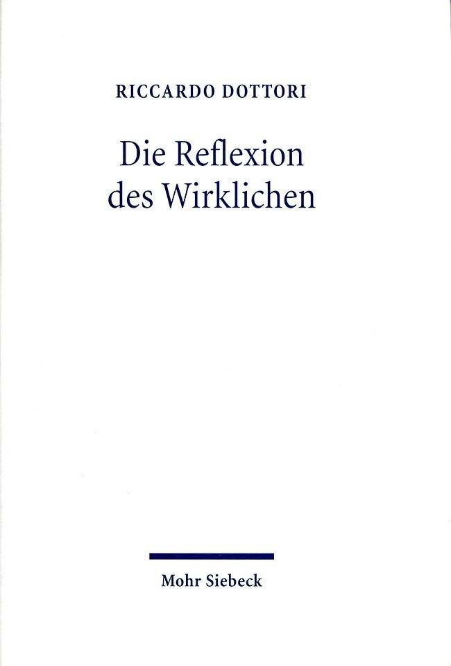 Die Reflexion des Wirklichen als Buch